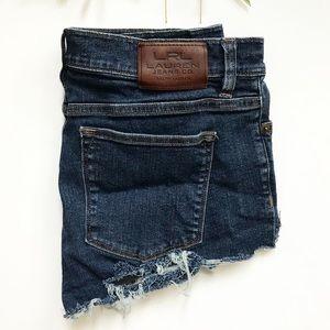Ralph Lauren Cut Off Jean Shorts